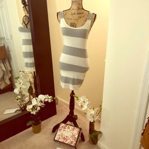 Stripe fitted summer dress: Forever 21